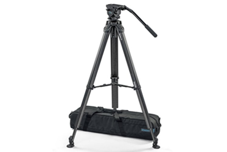 Vision blue5 head with Flowtech MS tripod, 26.5lb payload