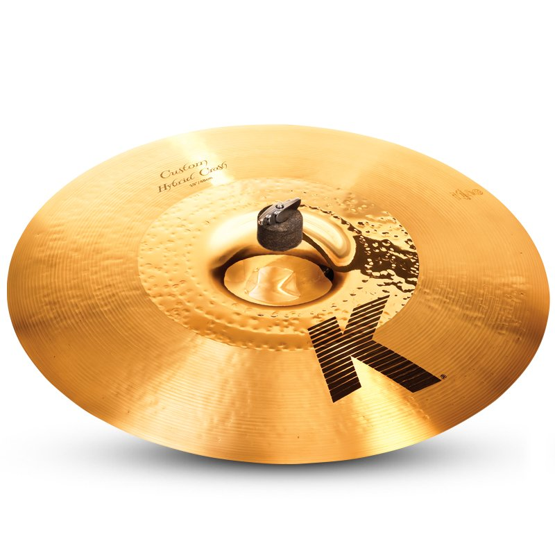 "19"" K Custom Hybrid Thin Crash Cymbal in Hybrid Finish"
