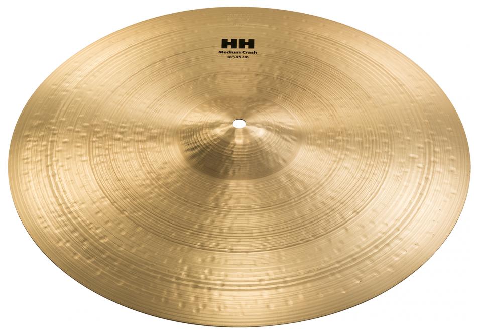 "18"" HH Medium Crash Cymbal in Brilliant Finish"