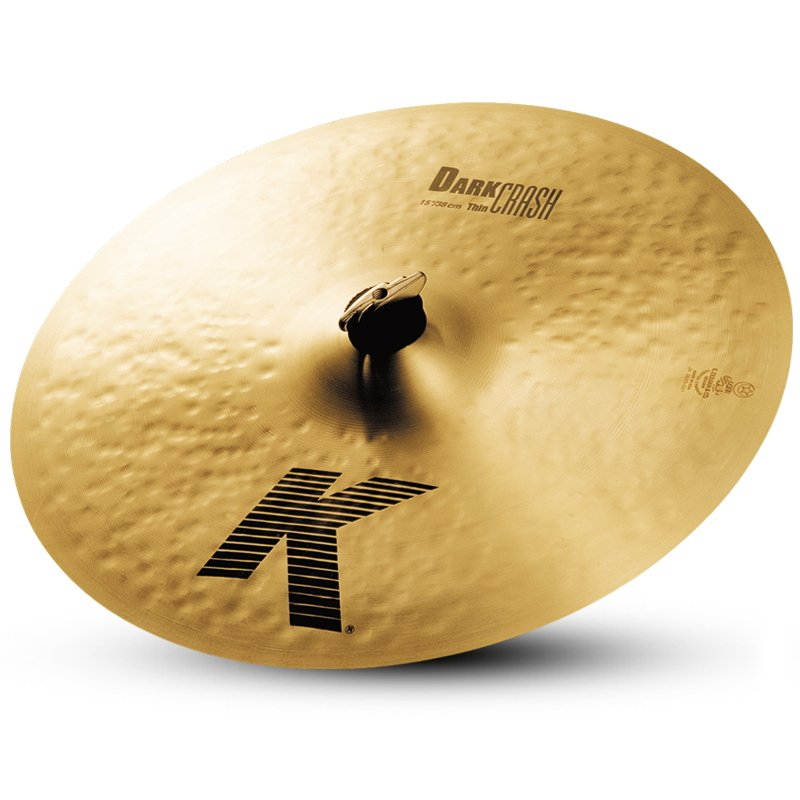 "15"" K Dark Thin Crash Cymbal"