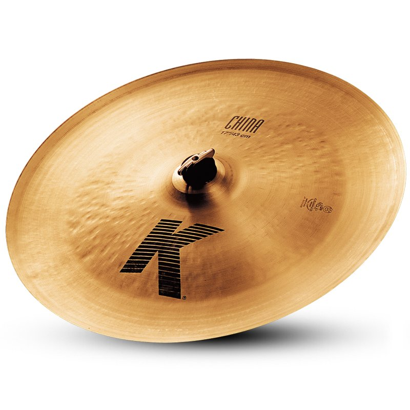 """17"""" K China Crash Cymbal"""