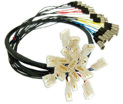 10 ft 4-Channel Quick Link Solution Snake, e3mc to XLRM