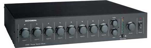 8 Input Modular Mixer