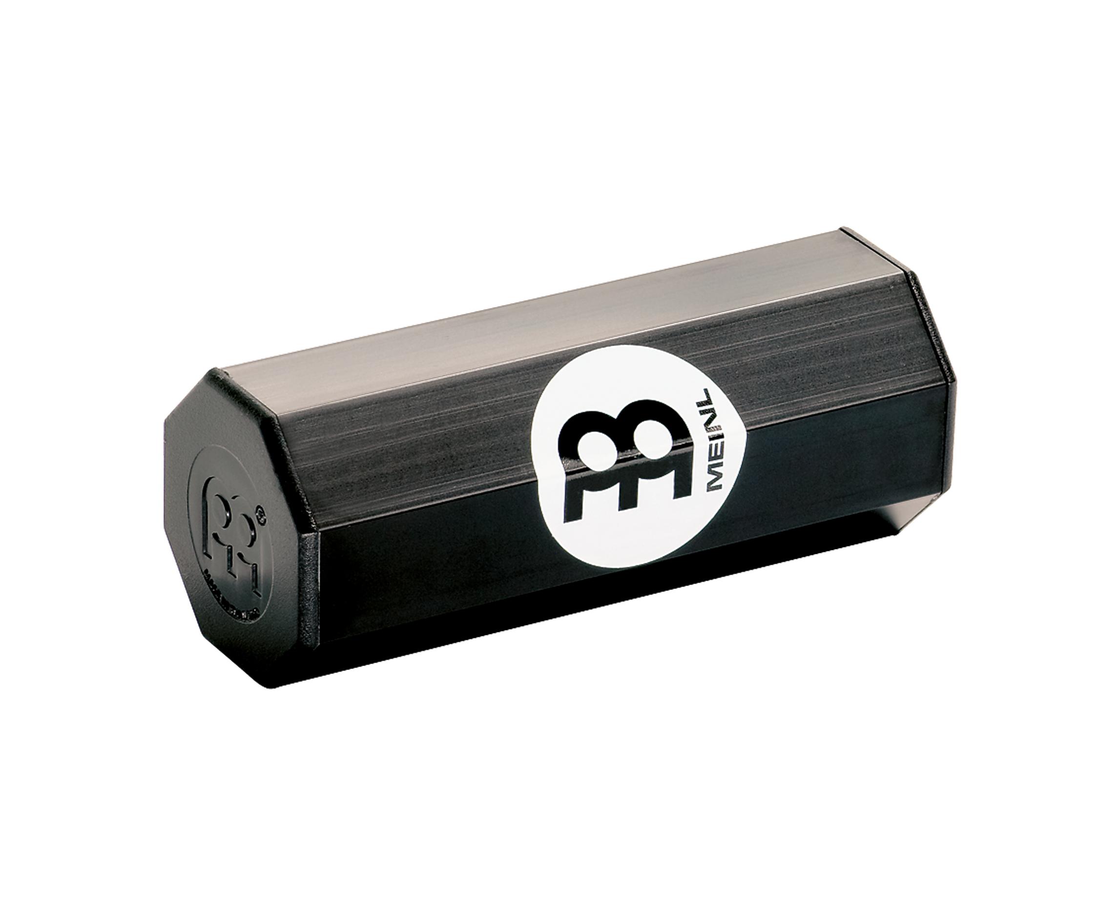 Small Octagonal Aluminum Shaker in Black