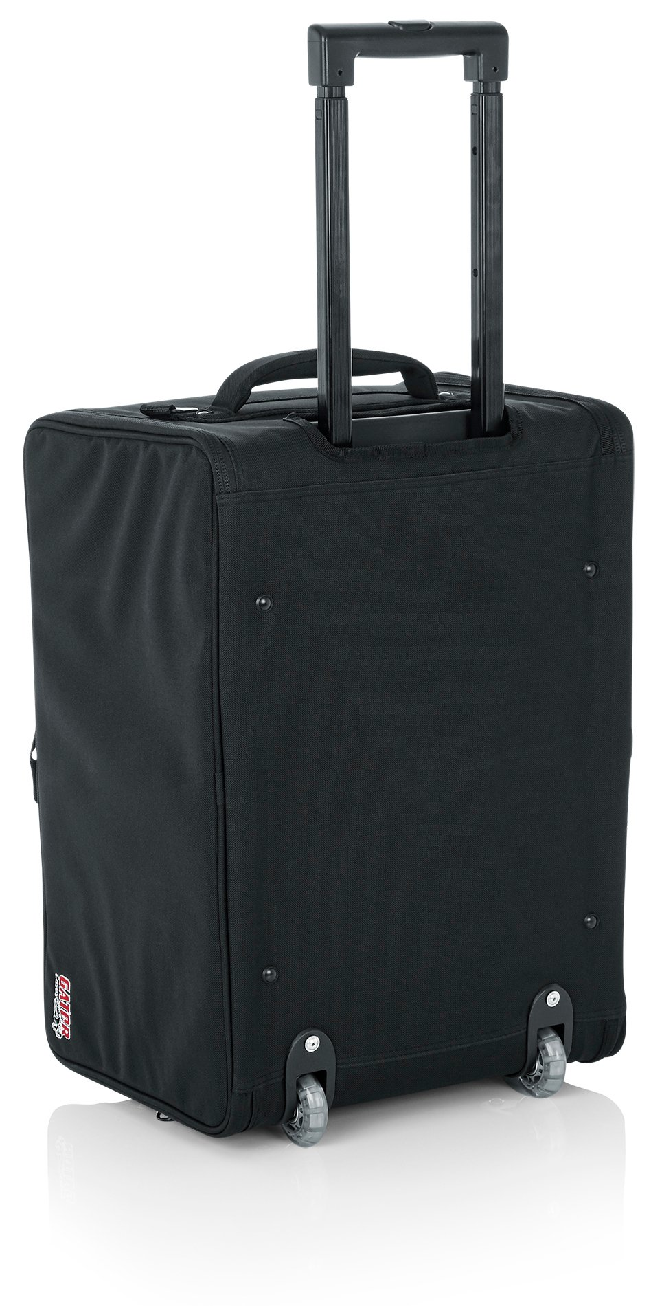 4RU Lightweight Rack Bag with Tow Handle and Wheels