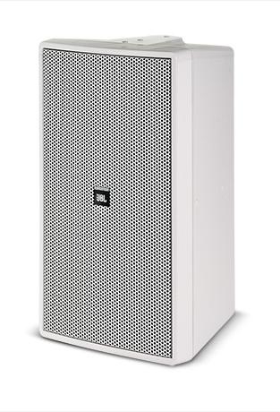 """300W 8"""" 2 Way Speaker in White"""