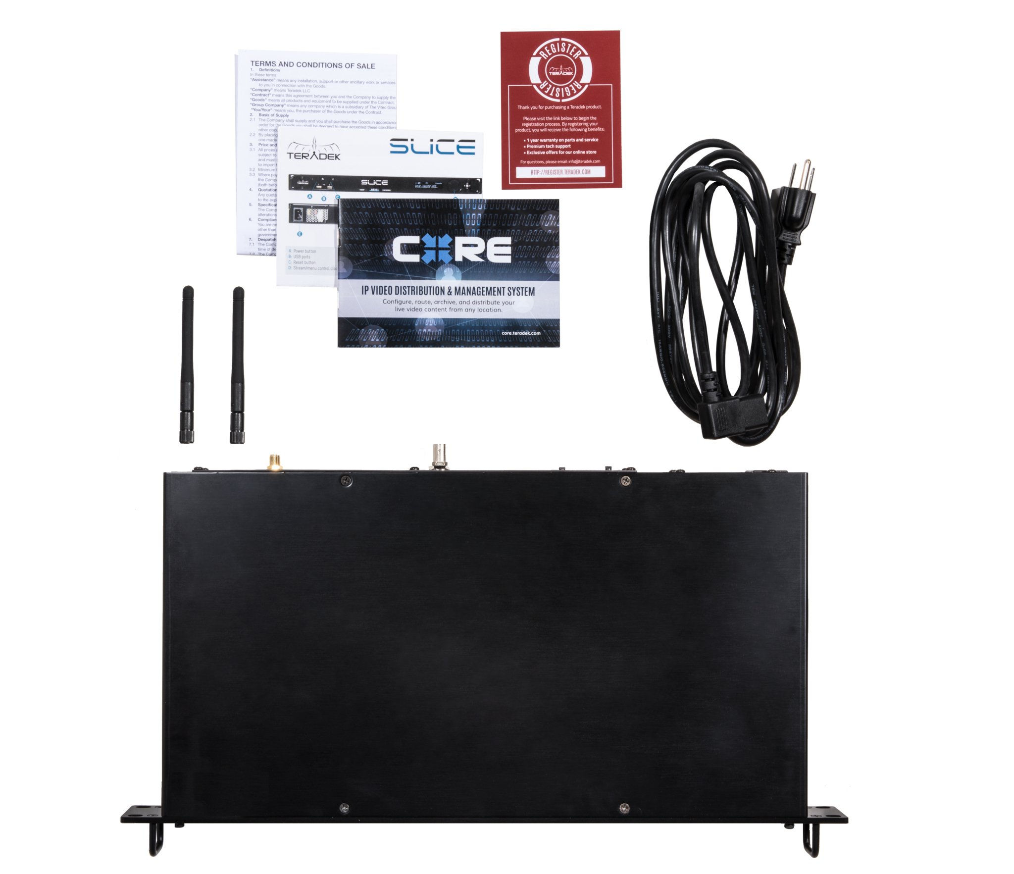 SDI/HDMI Rack-Mount H.264 Encoder with Wi-Fi & Ethernet