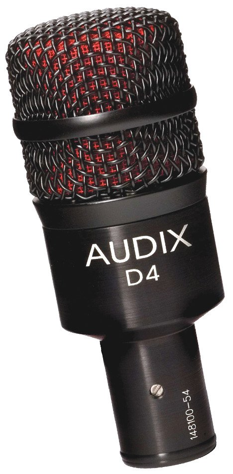 May Drum Miking System with Audix D4