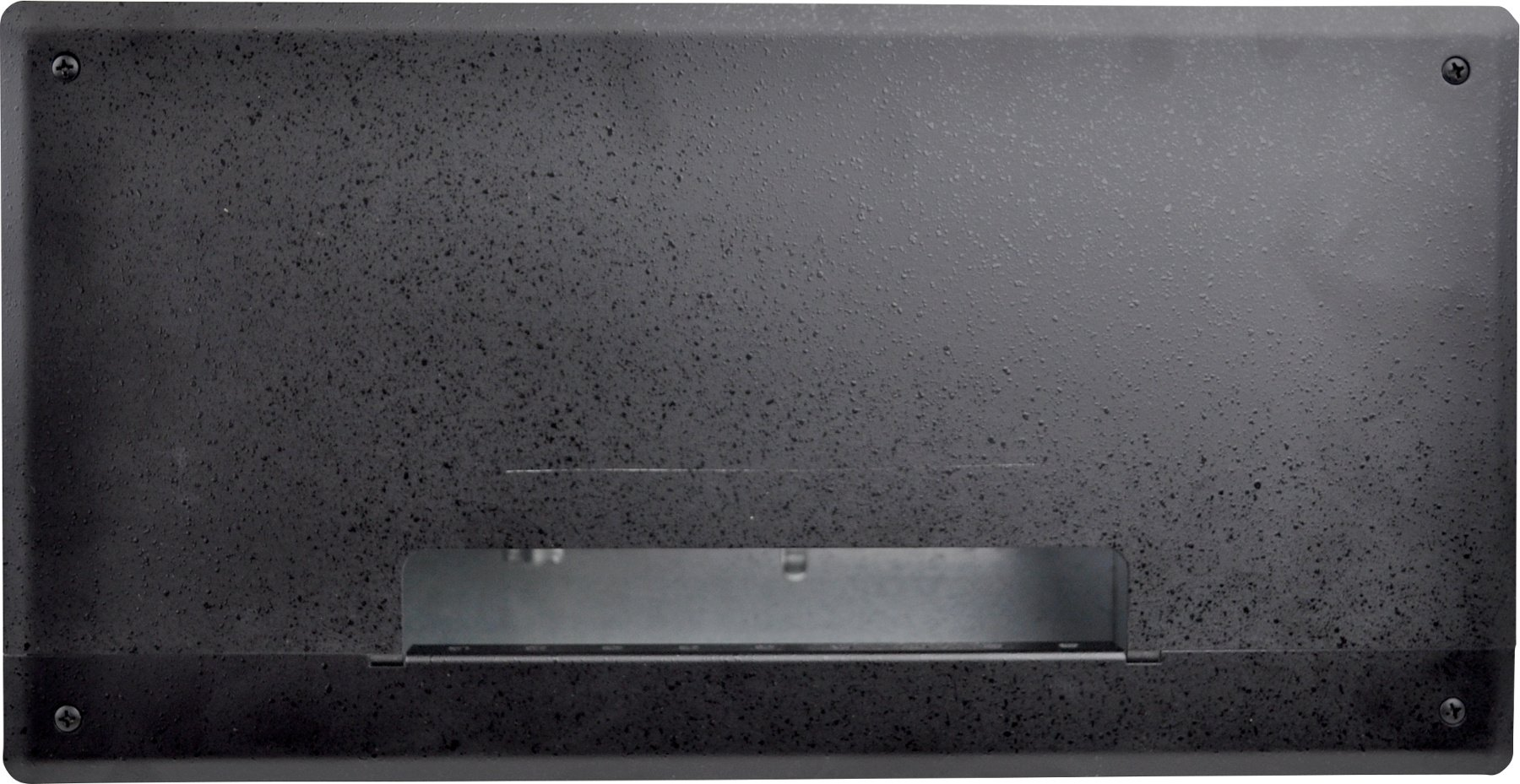 FSR, Inc PWB-250-BLK  Plasma/Flat Panel Display Wall Box with 6 IPS, 3 AC/Gang, 2 Knockouts PWB-250-BLK
