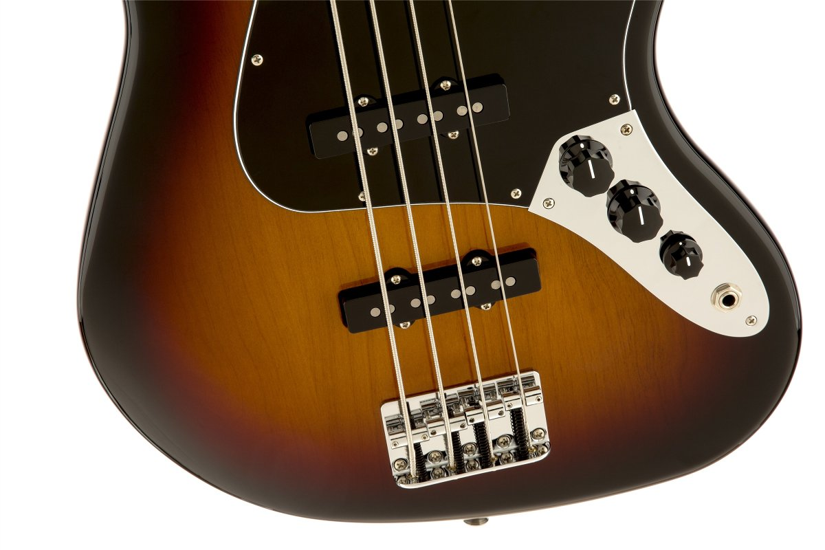 Electric Bass with Rosewood Fingerboard