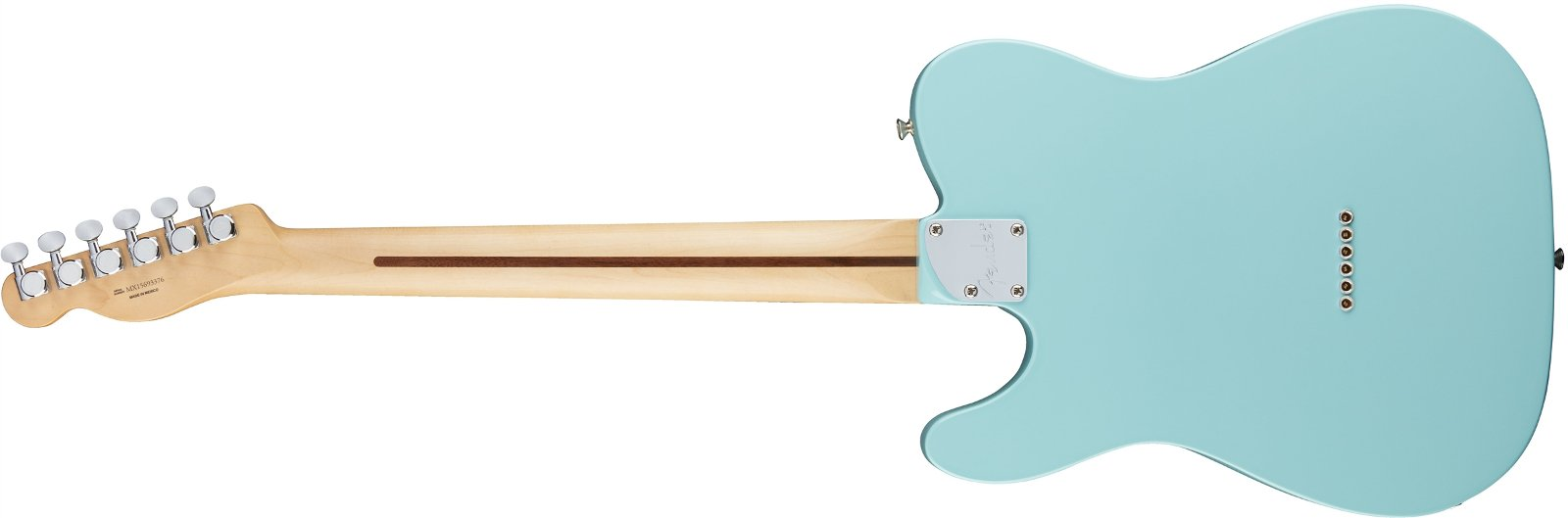 Electric Guitar with Daphne Blue Finish