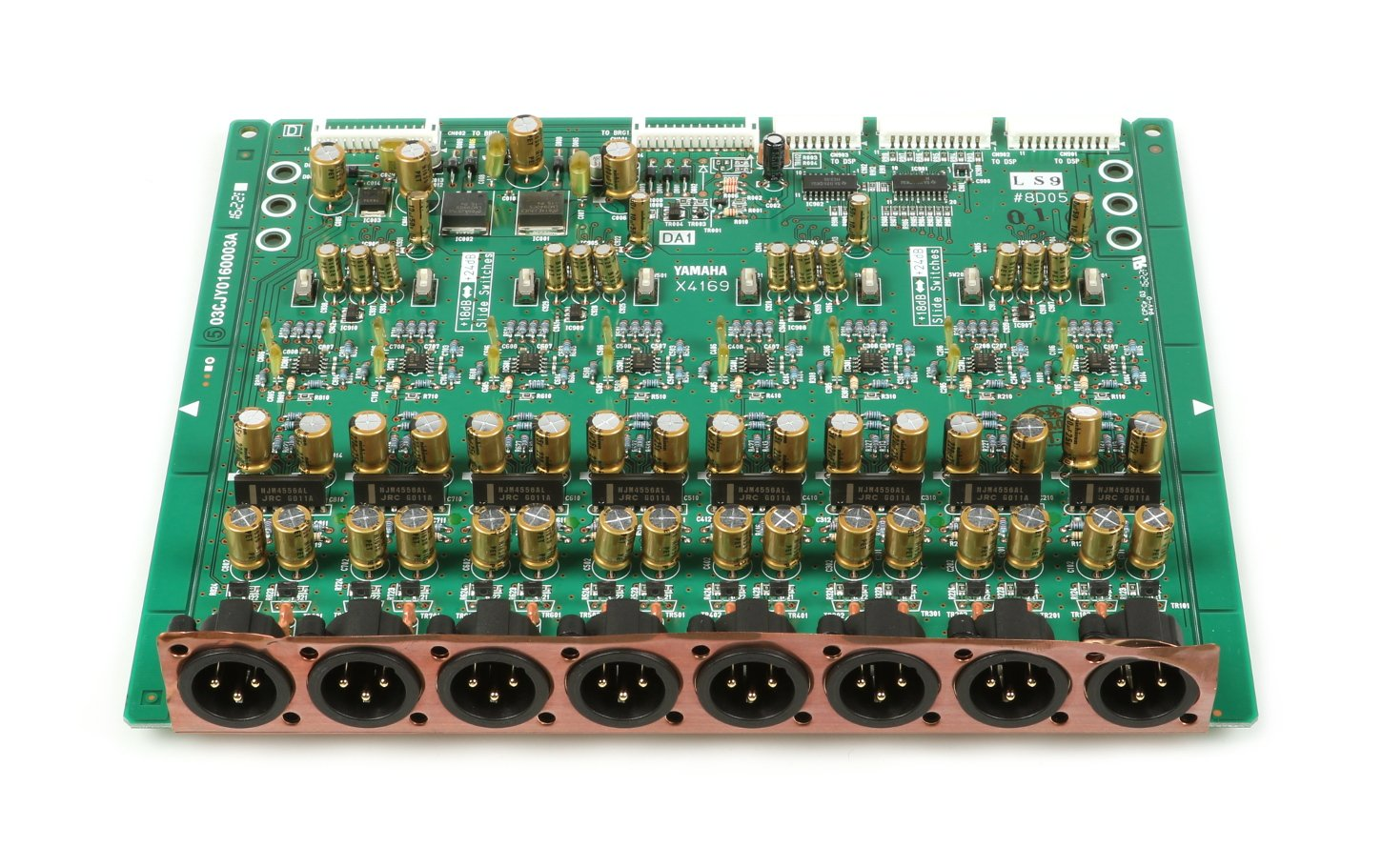 DA PCB Assembly for LS9-16 and LS9-32