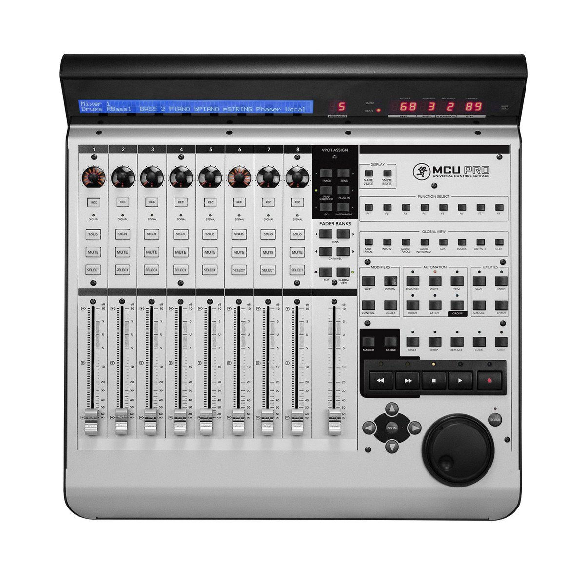 8-Channel DAW/NLE Control Surface