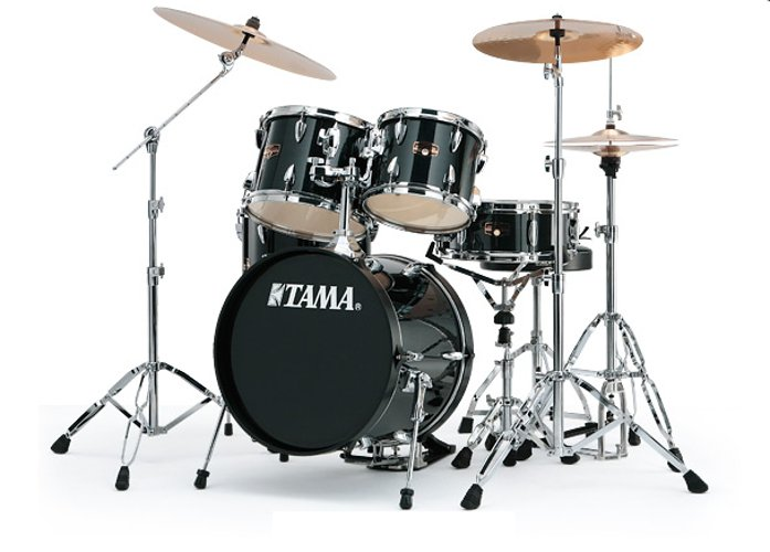 Tama Ready To Rock 5-Piece ImperialStar Drum Set with Meinl Cymbal Pack IP58C