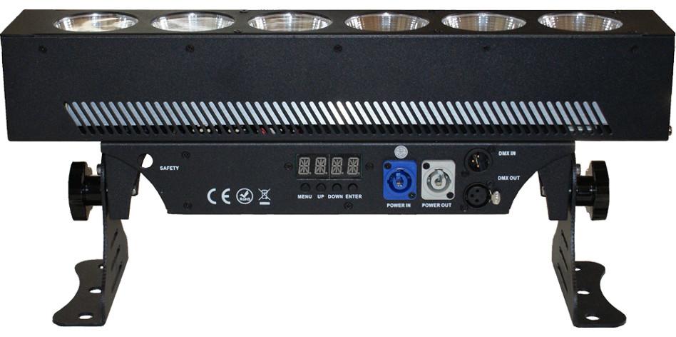Blizzard Lighting PixelStorm COB Mini [RESTOCK ITEM] 6x 25W RGBAW COB LED Strip Light PIXEL-STORM-C-RST-01
