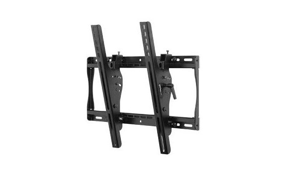 "Peerless ST640 Universal Tilting Wall Mount for Medium 23"" - 46"" LCD Screens, with Security Hardware, Black ST640"