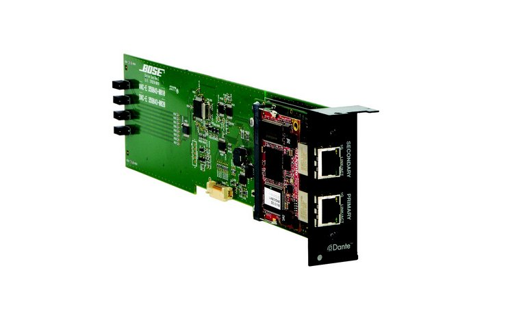 Bose 359843-0020 ControlSpace ESP-00 Dante Network Card  359843-0020