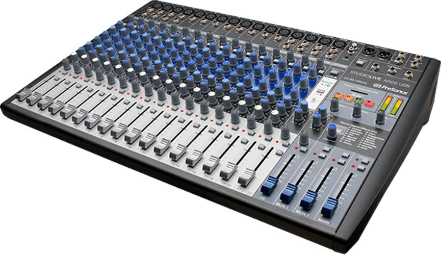 22 Channel Analog Hybrid Mixer