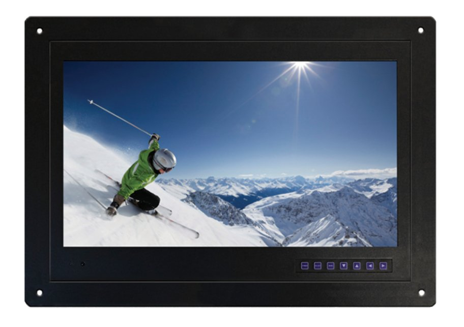 "19"" FLush Mount LCD TV Monitor with Tuner"