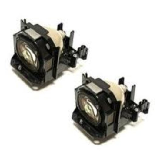 Panasonic ET-LAD60AW Twin Pack of Replacement Lamps for PT-DZ570 Series Projectors ETLAD60AW