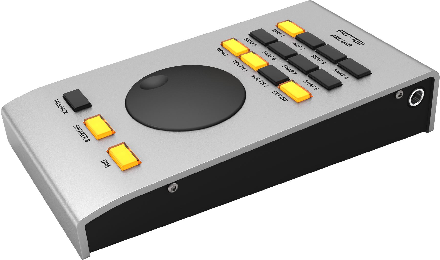 RME Advanced Remote Control USB Programmable USB Remote Control Unit for Fireface UFX+, Fireface UFX II ARC-USB