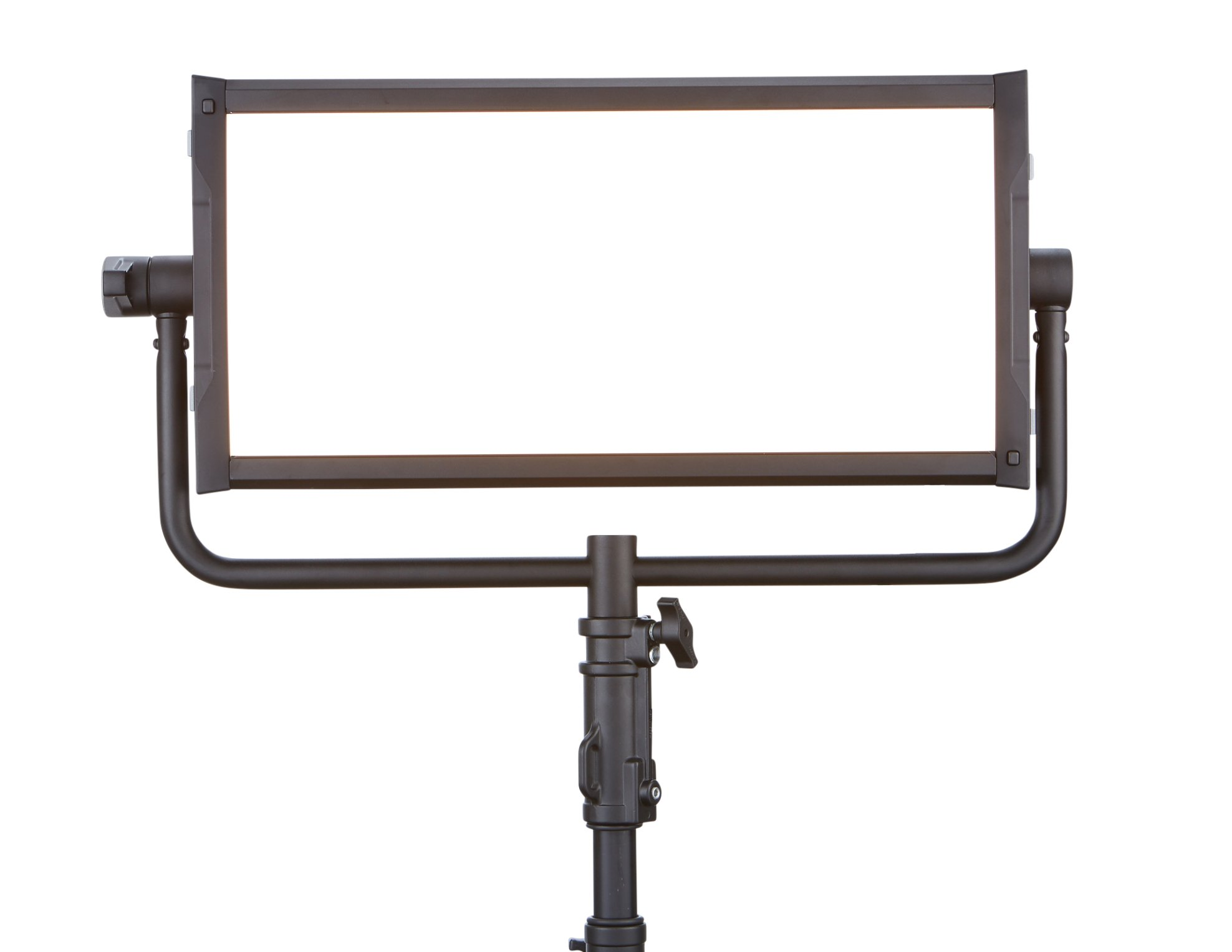 Litepanels Gemini LED Soft Panel 325W 2x1 LED Panel with Edison Connector and Pole Operated Yoke 940-1311