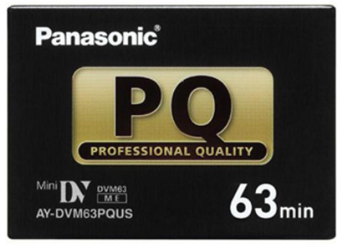 Professional Quality 63 Min. Mini DV Pro Cassette