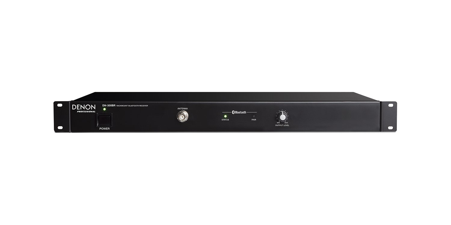 Receiver with Bluetooth, 1RU
