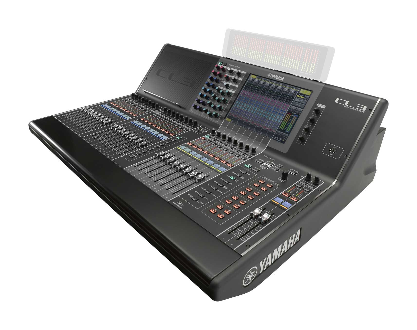 64 Mono + 8 Stereo Digital Mixer without Meter Bridge