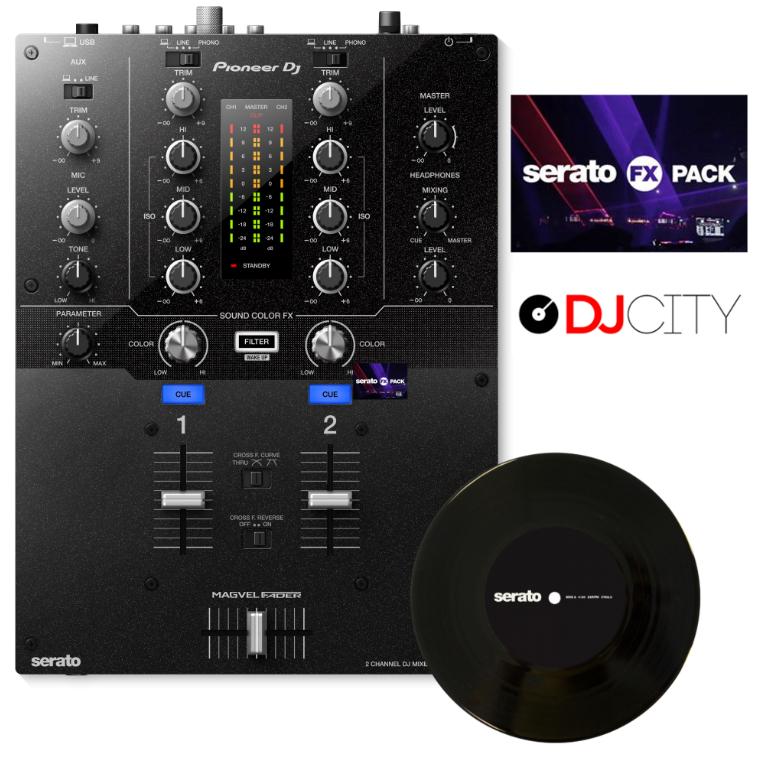 2-Channel Mixer for Serato DJ