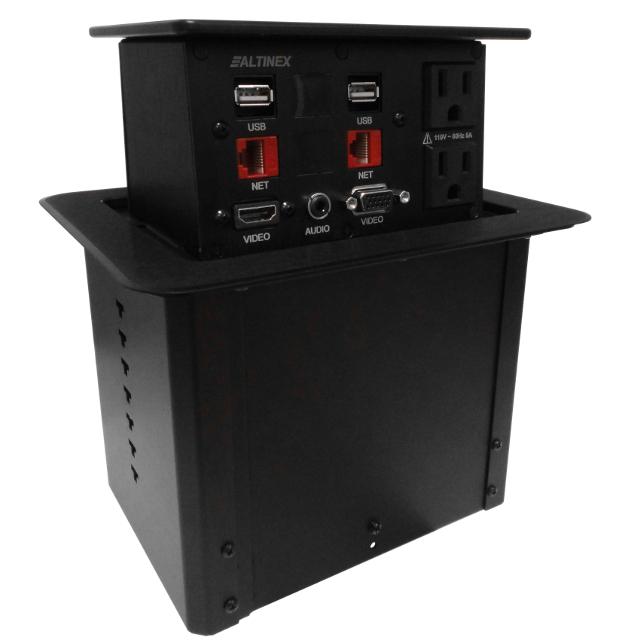 Altinex PNP408 Pop 'N Plug Interconnect Tabletop Box PNP408C