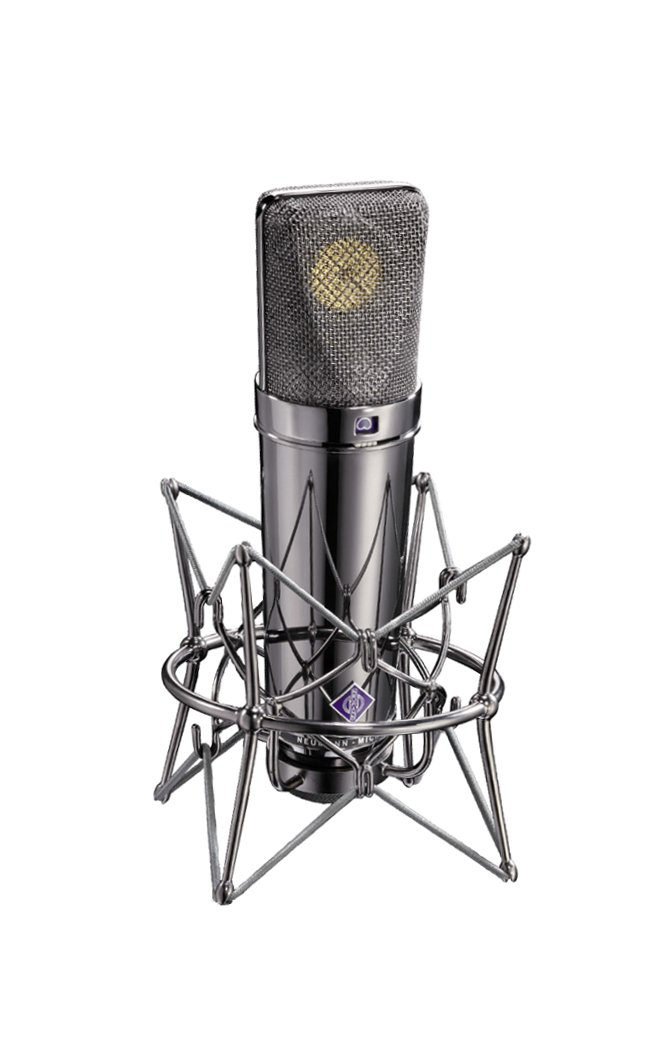 Limited Edition Condenser Microphone with Mount, Cable, Windscreen