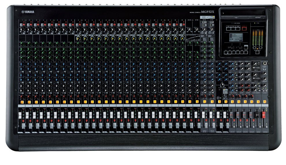 32-Channel Mixer with USB Recording and FX