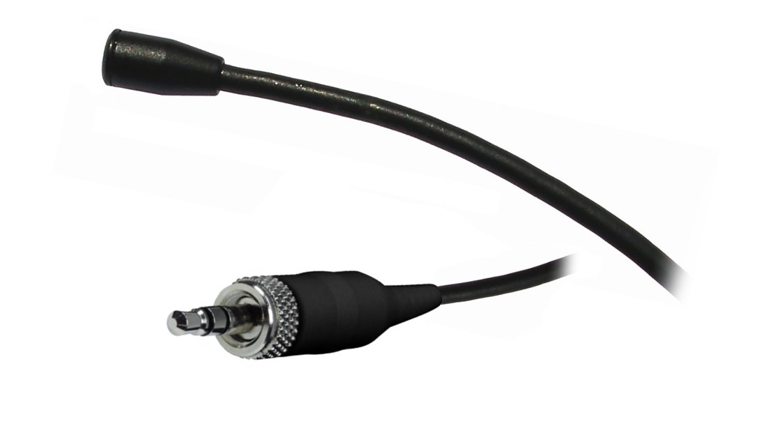 Lapel Microphone with 3.5mm LM3 Connect, Black