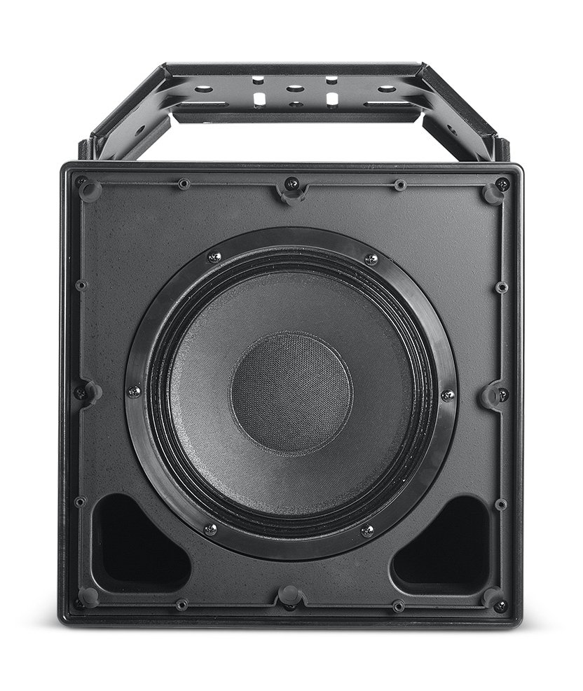 "8"" Passive All-Weather Compact 2-Way Coaxial Loudspeaker in Black"