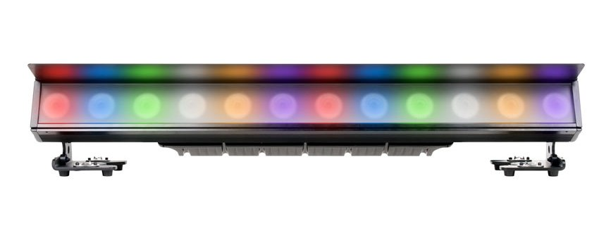 12 12W 6-IN-1 RGBAW+UV LED Bar Rated IP65
