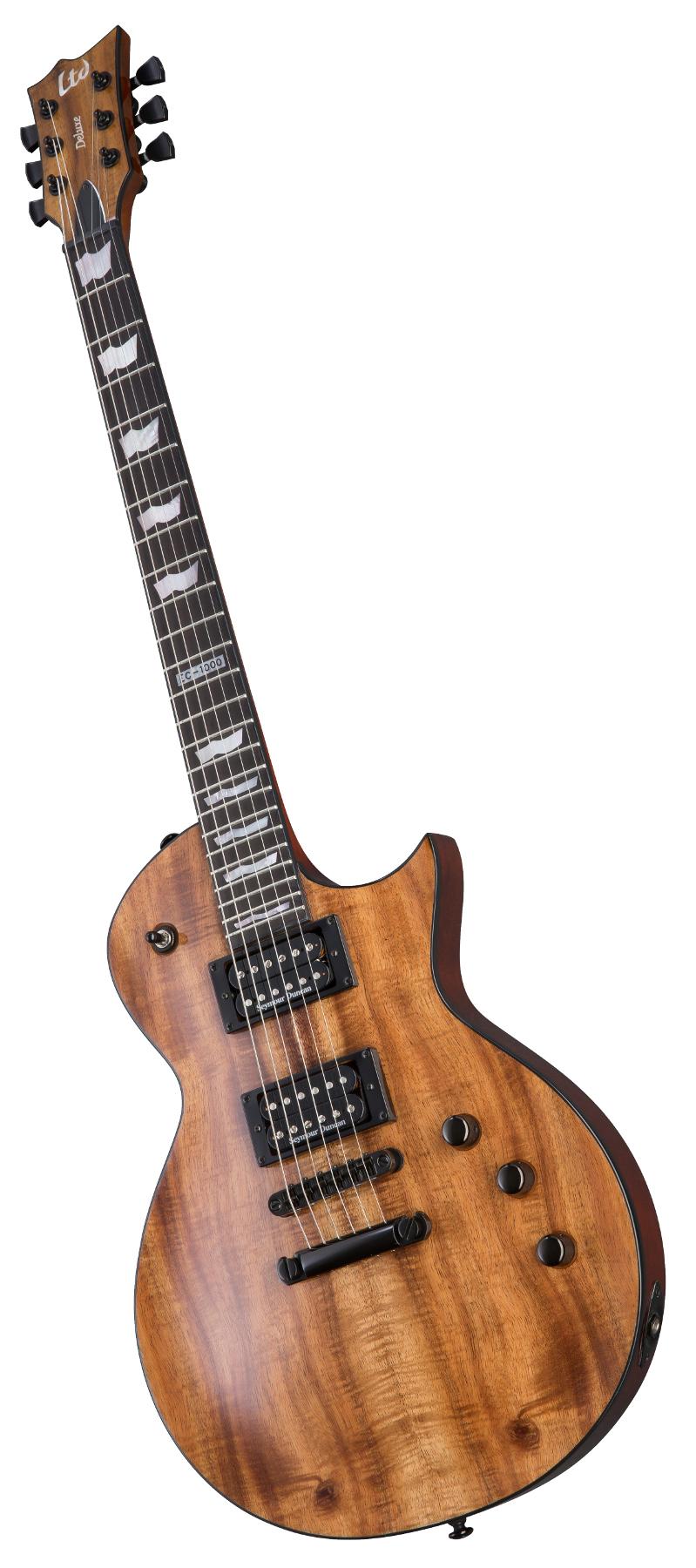 Electric Guitar, Natural Gloss