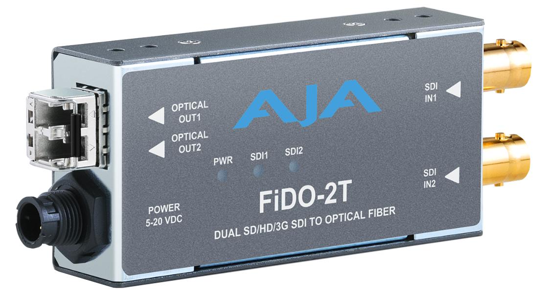 2-Channel 3G-SDI to Multi-Mode LC Fiber Transmitter
