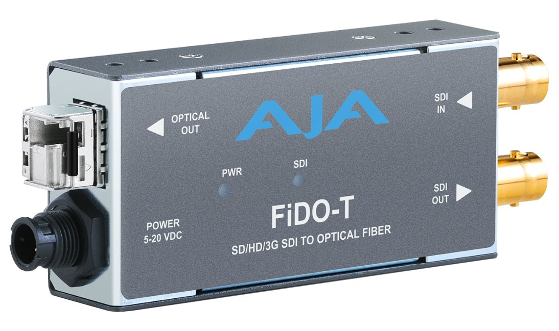 1-Channel 3G-SDI to Multi-Mode LC Fiber Transmitter