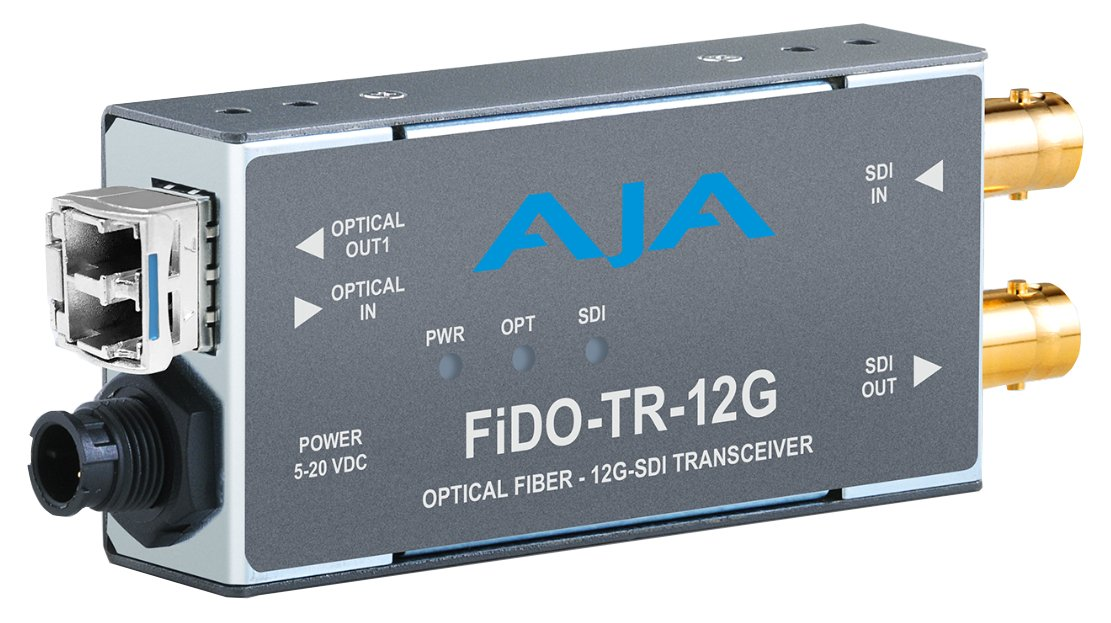 1-Channel 12G-SDI/LC Single-Mode LC Fiber Transceiver