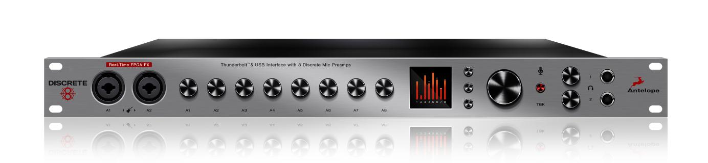 Resultado de imagem para Antelope Audio Discrete 8 Microphone Preamp