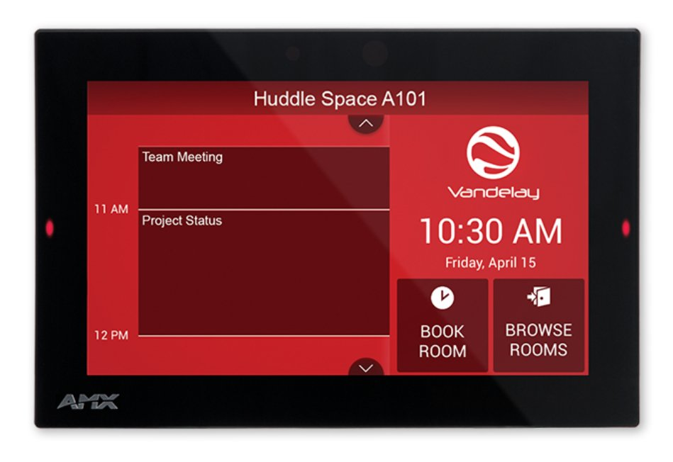 "7"" Acendo Book Scheduling Touch Panel"