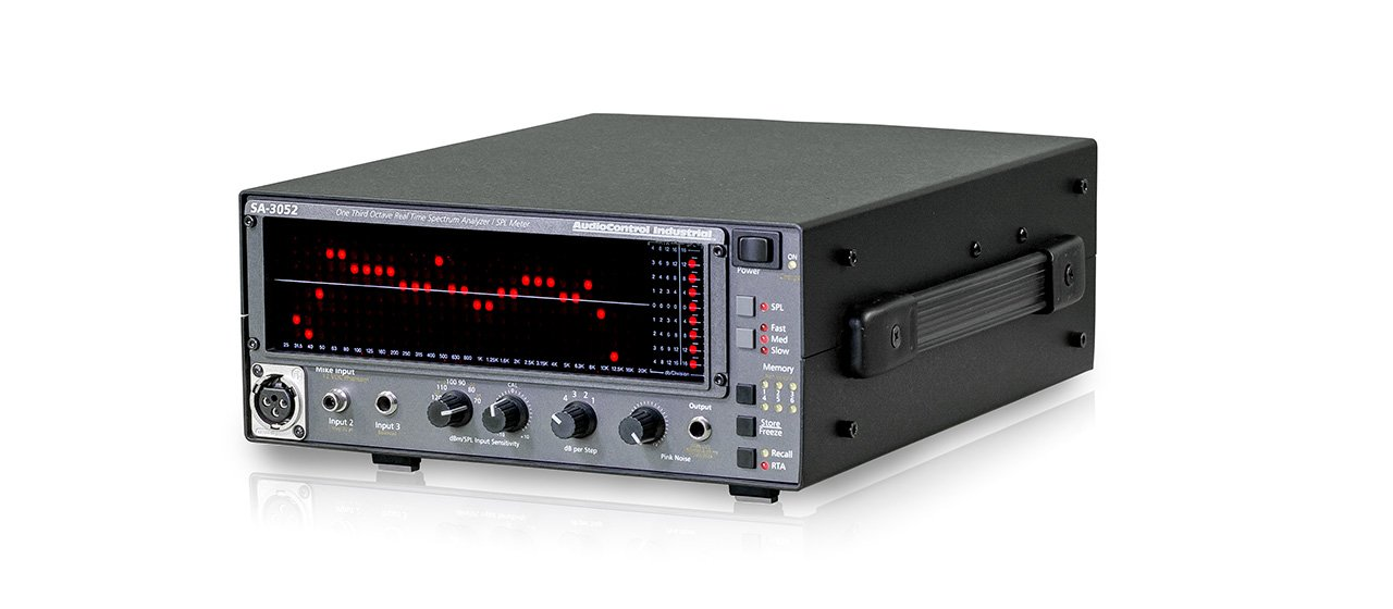 Real Time Spectrum Analyzer with Battery & Mic