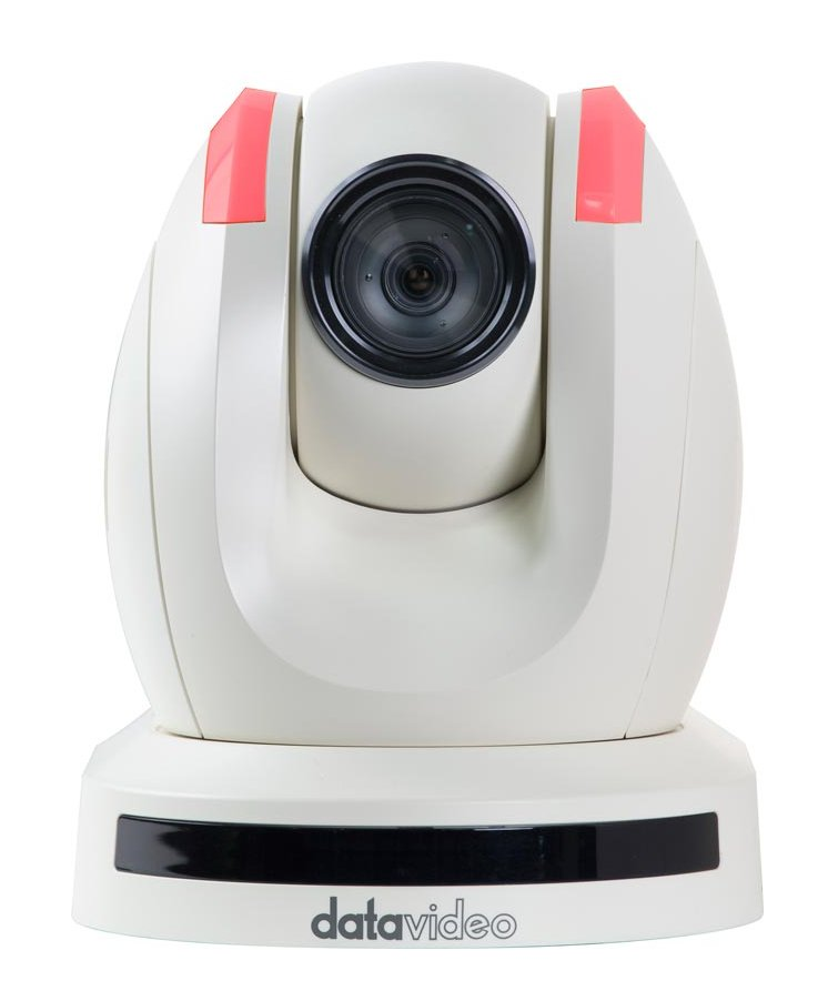 HD/SD PTZ Video Camera with HDBaseT Technology in White