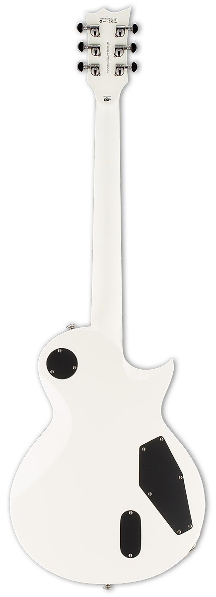 Left-Handed Electric Guitar, Olympic White