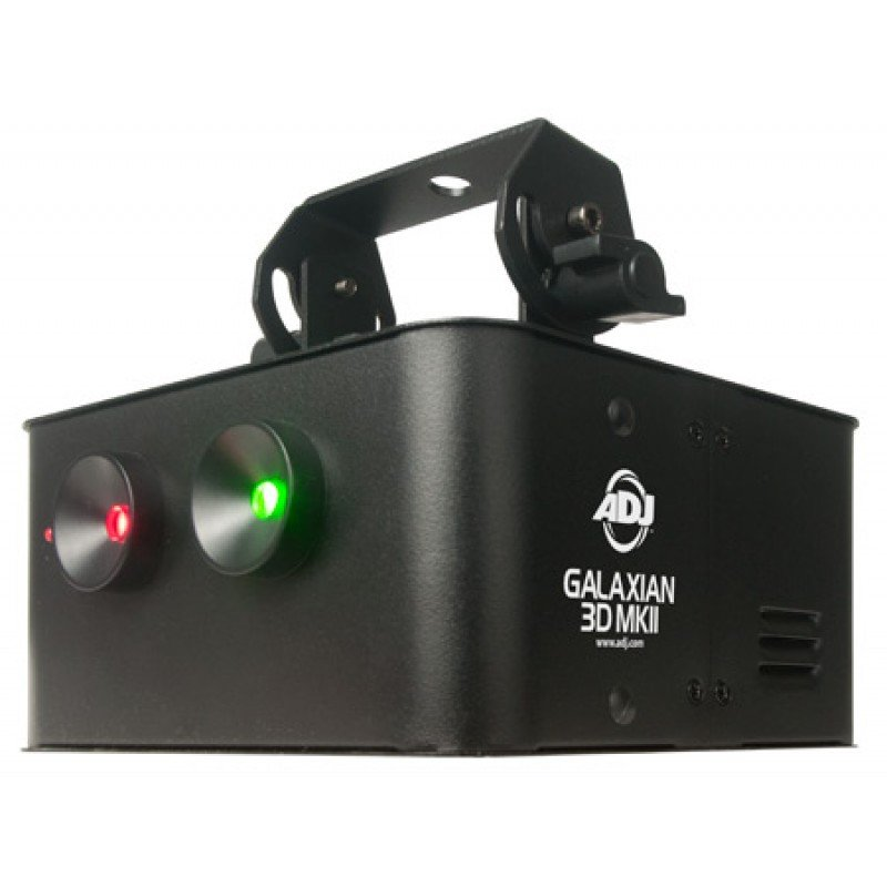 Red & Green Laser Effect