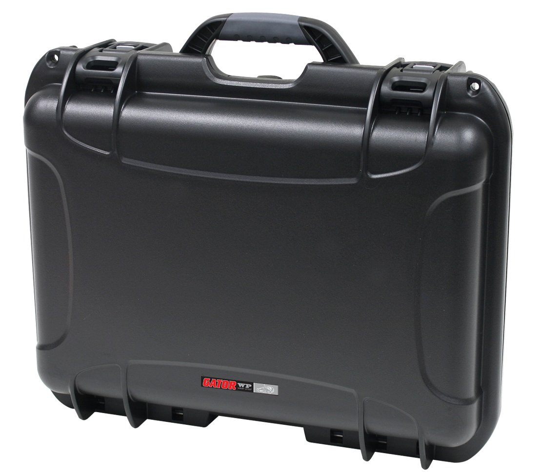 Waterproof Injection-Molded Case with Diced Foam Interior