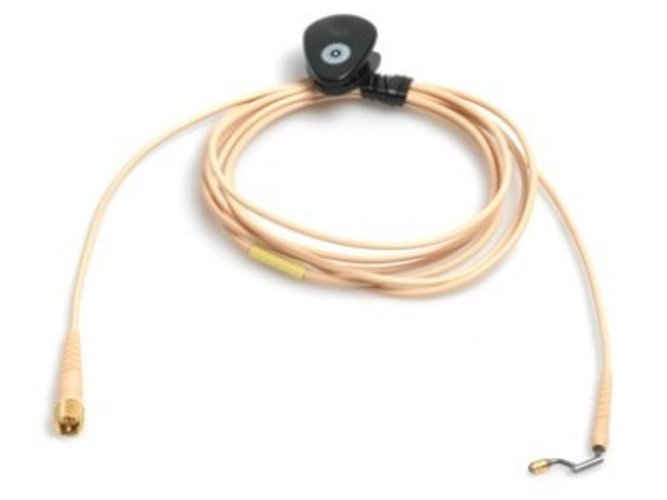 d:fine Beige Microphone Cable with TA4F for Earhook Slide
