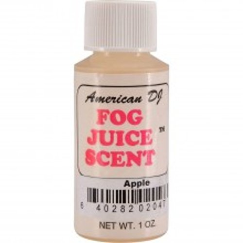 ADJ Apple Fog Scent 1 oz, F-SCENTS/APPLE