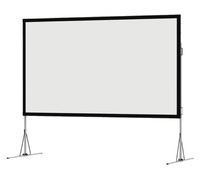 "16:10 Format 226"" Diagonal Portable Projection Screen"